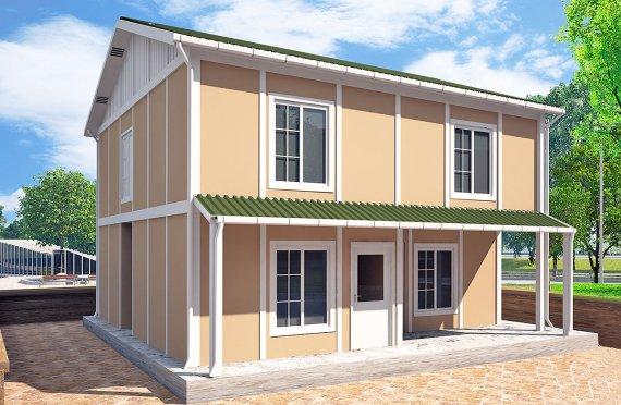 Rumah Pasang Siap 127 m²
