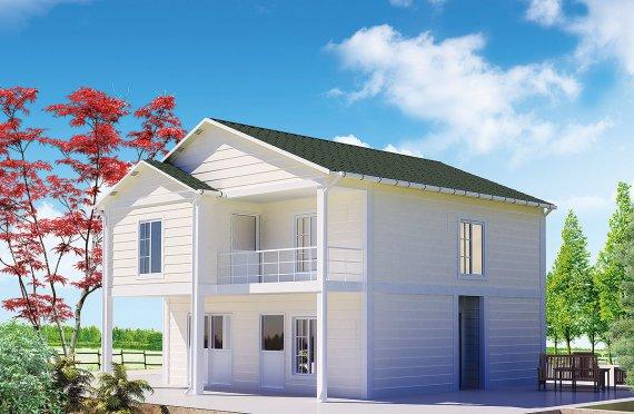 Rumah Peranginan Pasang Siap 130 m²