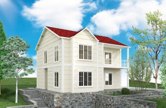 Rumah Pasang Siap 132 m²