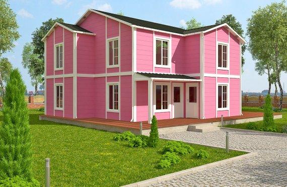 Rumah Pasang Siap 147 m²