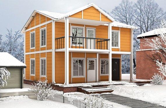 Rumah Pasang Siap 112 m²