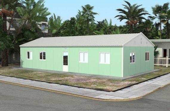 Bilik Darjah Mudah Alih 117 m²