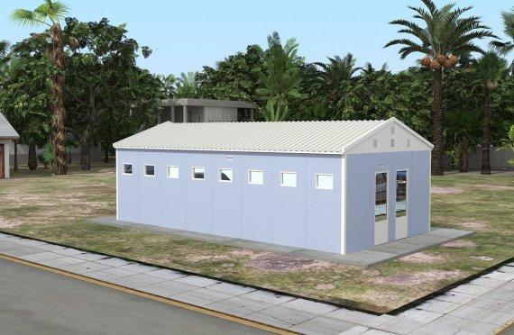 Binaan Tandas & Pancuran Mandi Pasang Siap 52 m²