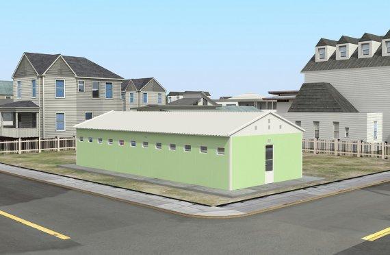 Tandas & Pancuran Mandi Pasang Siap 97 m²