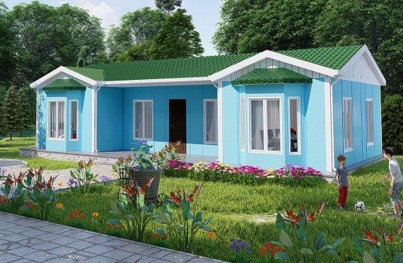 Rumah Modular Tingkat Satu
