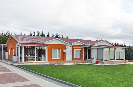 Rumah Pasang Siap Dua Tingkat