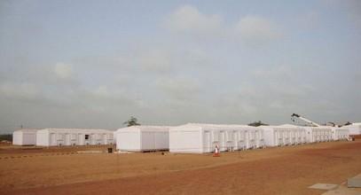 Karmod telah menyelesaikan kem pekerja untuk 250 orang di Somalia