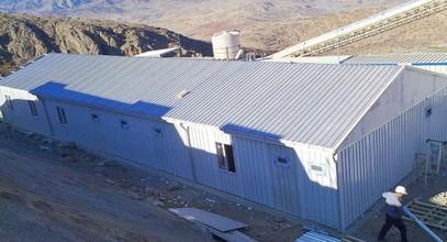Bangunan tapak kerja dihantar ke Anagold Mining di Turki