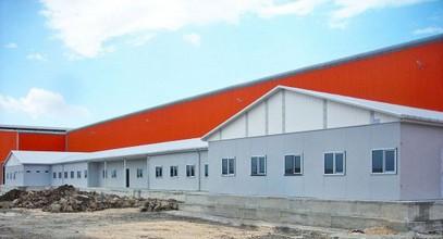 Projek tapak kerja pasang siap untuk Ufuk Boru Company telah selesai
