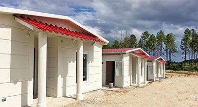 Karmod telah melengkapkan projek rumah keluli di Panama
