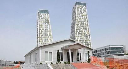 Bangunan jualan dan informasi Monumento di Kartal selesai