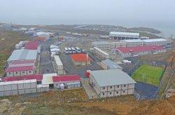 Tapak pembinaan lapangan terbang ke-3 yang dibina oleh Karmod