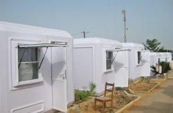 Kabin tapak binaan untuk pekerja perlombongan emas di Senegal