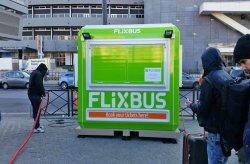 Kios tiket Flixbus dari Karmod