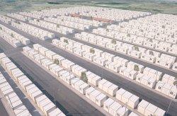 Projek perumahan kontena untuk pelarian Syria